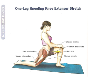 Stretching Hip Flexors